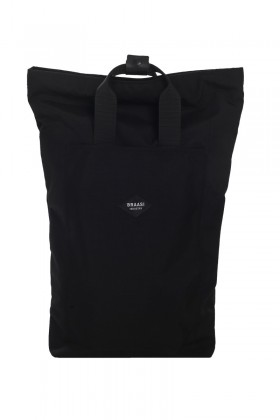 Black backpack with handle Hanz