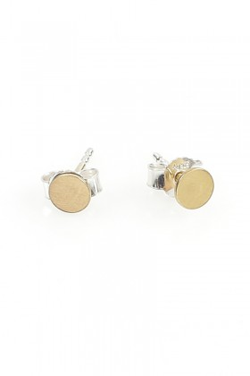 Gold plated Invisible earrings