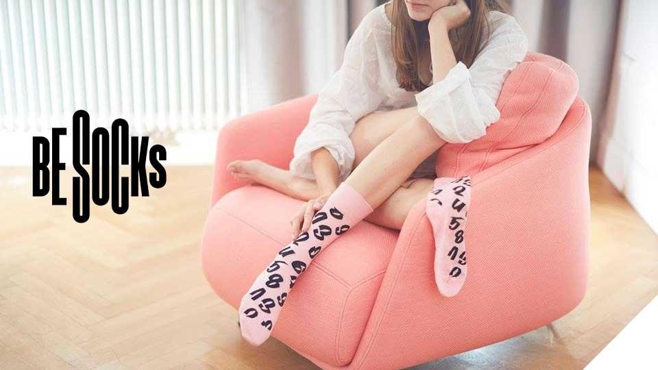 Be Socks - ponožky s krásným designem