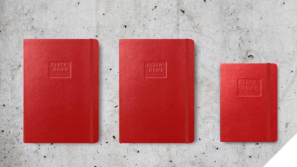 Chytré diáře a zápisníky Black Brick