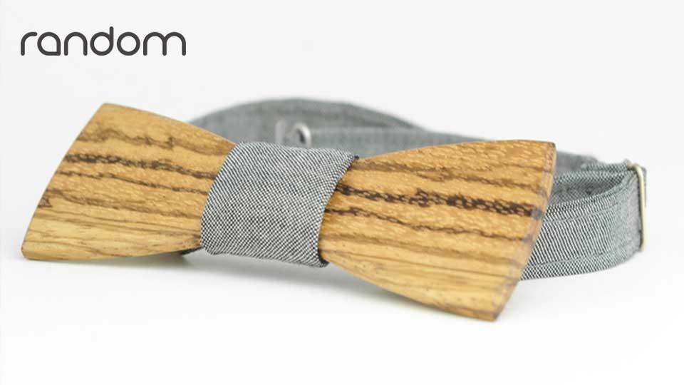 Random - wooden bow ties