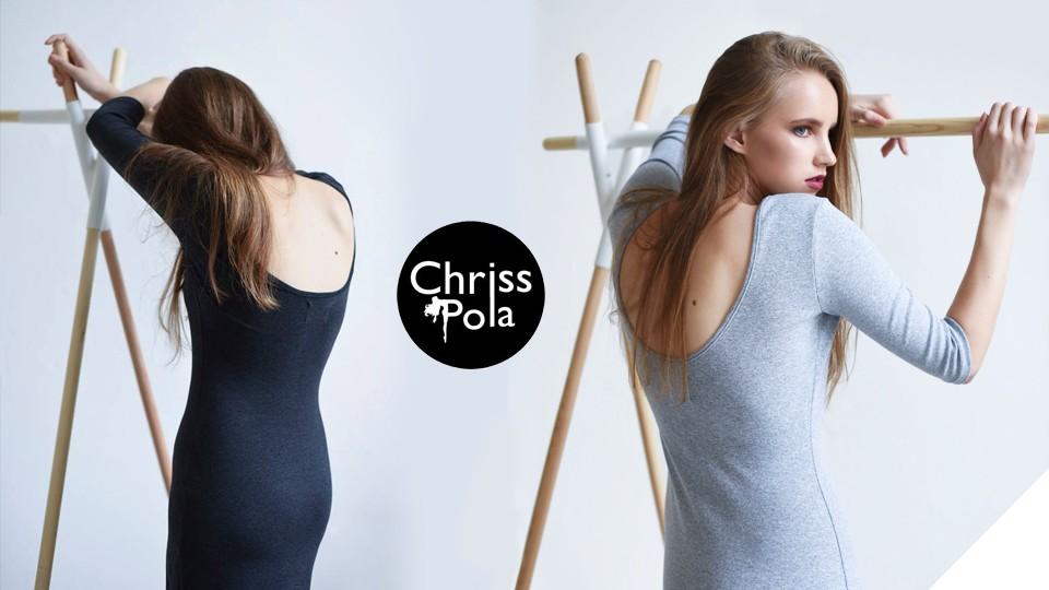 Chriss Pola - merino topy a šaty