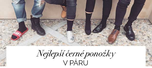 Nejlepší černé ponožky V páru