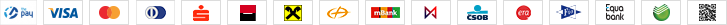 ThePay – Platba kartou, Platba24, MojePlatba, eKonto, mPeníze, MONETA, ČSOB, Fio Banka, Equa Bank, Sberbank, QR platba
