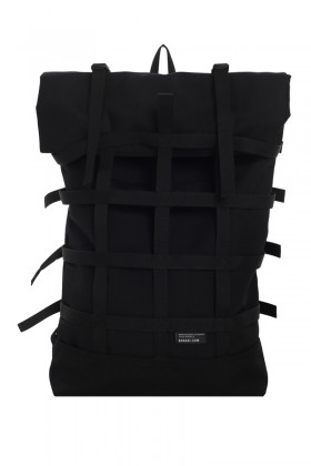 Webbing Black backpack
