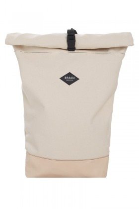 Beige backpack Purista