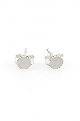 Silver Invisible earrings