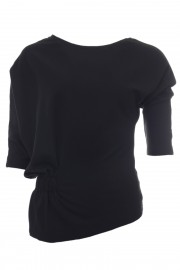 "Black ""off site"" top"