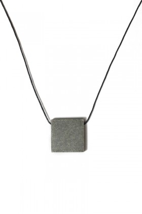 Grey necklace square