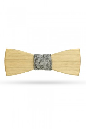 Bow tie Oak & Herringbone