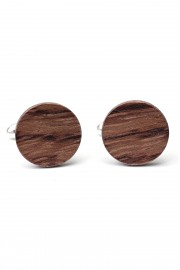 Bubinga wooden cufflinks