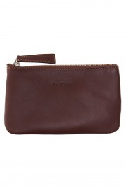 Dark brown leather Mini Etui