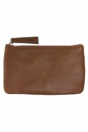 Brown leather Mini Etui