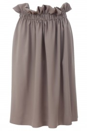 Beige waistband skirt