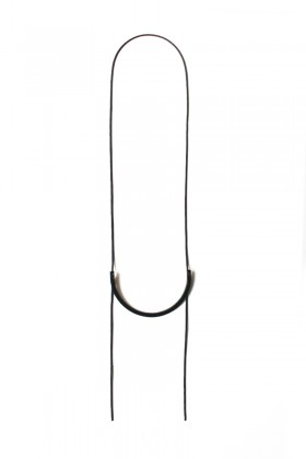Necklace - thin semicircle