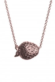 Rose gold plated necklace Jordgubbar