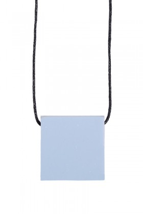 Black necklace square