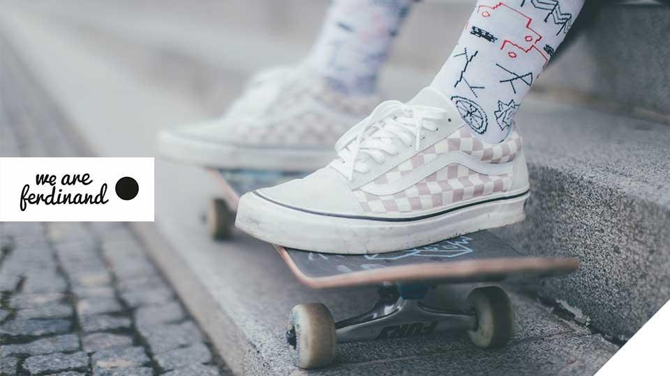Barevné ponožky od české značky we are ferdinand