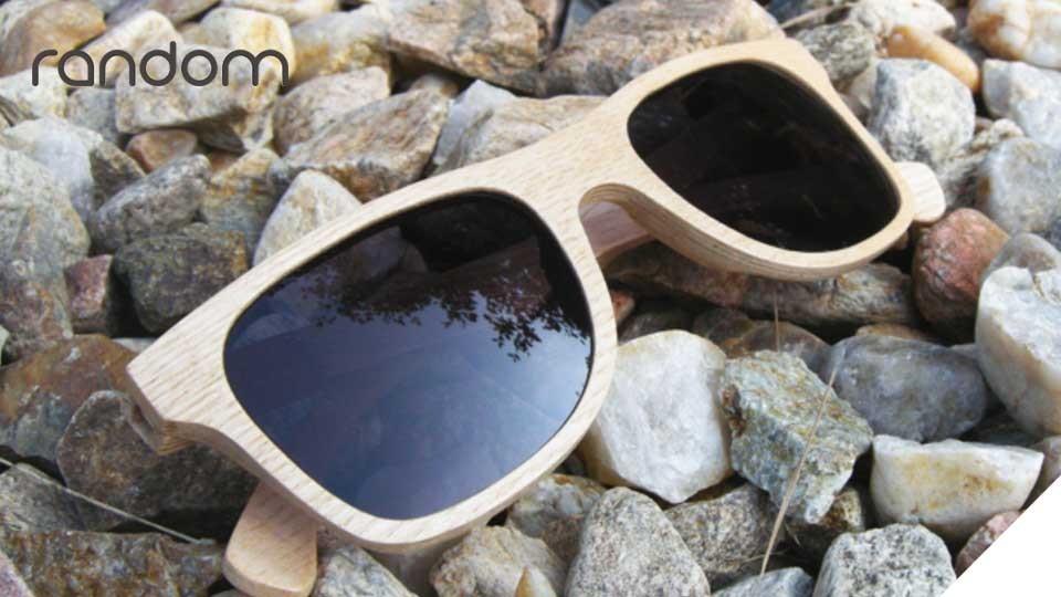 Hand-made Czech wooden sunglasses