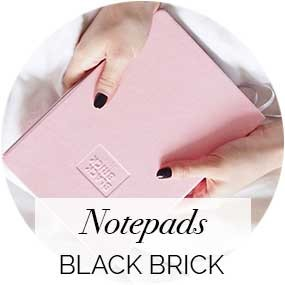 Notepads and diaries by Black Brick