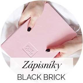 Zápisníky a diáře Black Brick